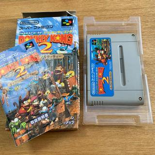 スーパーファミコン - ゲームソフト スーパードンキーコング2