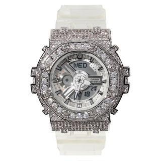 ベビージー(Baby-G)のG-SHOCK BABY-G ベイビーG スケルトン カスタム BA110CR(腕時計(アナログ))
