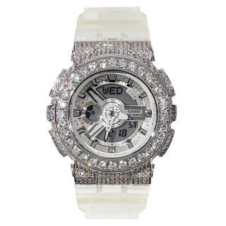 ベビージー(Baby-G)のG-SHOCK BABY-G ベイビーG スケルトン カスタムBA-110CR(腕時計)