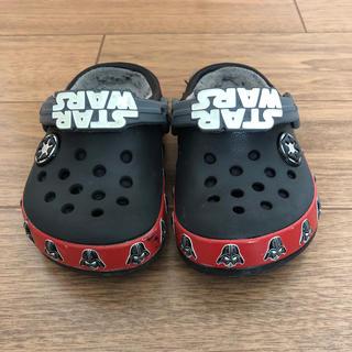 crocs - クロックス  キッズ ダースベイダー  スターウォーズ 14cm
