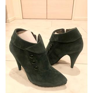 イタリア製 本革ショートブーツ 新品(ブーツ)