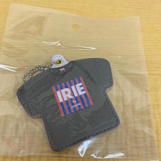 アイリーライフ(IRIE LIFE)の◆新品未使用◆irie life Tシャツキーホルダー ロゴ茶(キーホルダー)