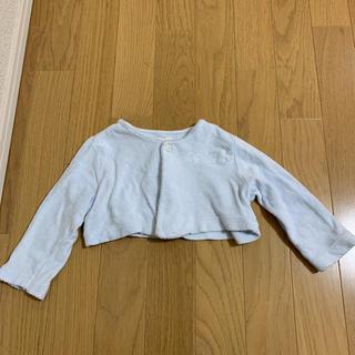 ベビーディオール(baby Dior)の80㎝【ベビーディオール】カーディガン、ボレロ 水色(カーディガン/ボレロ)