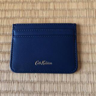 キャスキッドソン(Cath Kidston)のキャスキッドソン カードケース《未使用》(名刺入れ/定期入れ)