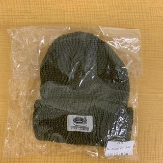 アイリーライフ(IRIE LIFE)の◆新品未使用◆vinyl junkie 子供用 ニット帽 カーキ (帽子)