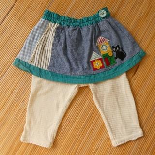 プチジャム(Petit jam)のプチジャム スカッツ スカート付きパンツ 70(パンツ)