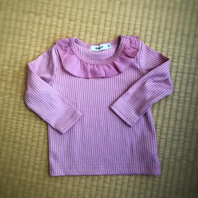 eaB(エーアーベー)のeaB / ベビー服 女の子80 キッズ/ベビー/マタニティのベビー服(~85cm)(Tシャツ)の商品写真