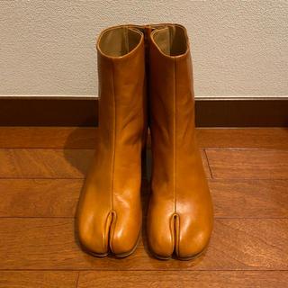 マルタンマルジェラ(Maison Martin Margiela)のメゾンマルジェラ 足袋 タビ ブーツ 37 6cmヒール 試着のみ 美品(ブーツ)