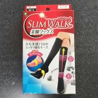 ピップスタジオ(PiP Studio)の【新品 未使用】SLIM WALK  美脚ソックス ブラック M~L(ソックス)