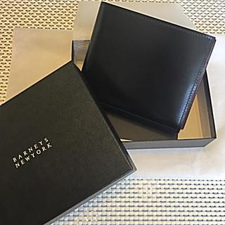 バーニーズニューヨーク(BARNEYS NEW YORK)の未使用 バーニーズ バイカラー ウォレット(折り財布)