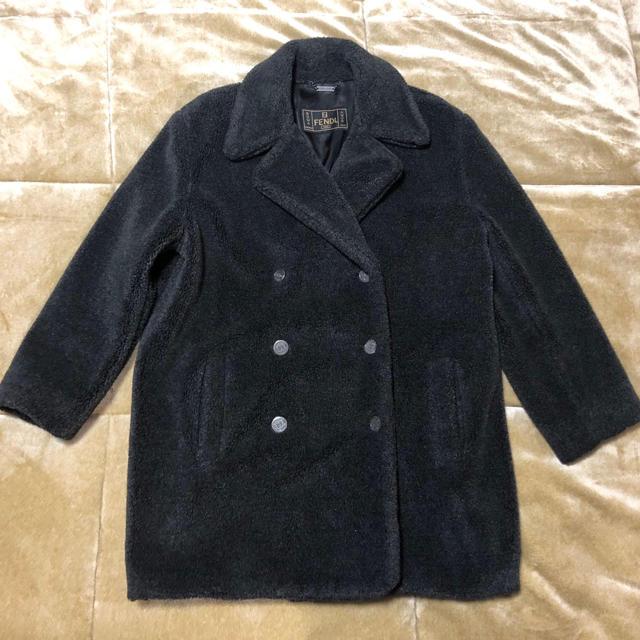FENDI(フェンディ)のfendi jeans コート レディースのジャケット/アウター(ロングコート)の商品写真