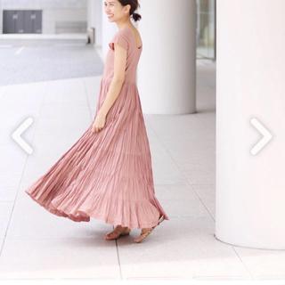 イエナ(IENA)のIENA MARIHA 草原の虹のドレス 新品未使用(ロングワンピース/マキシワンピース)