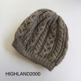 JOURNAL STANDARD - イギリス製 HIGHLAND2000 ニット帽