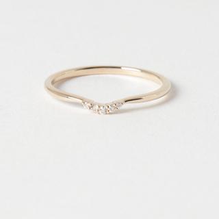 アガット(agete)のアガット ダイヤリング 美品(リング(指輪))