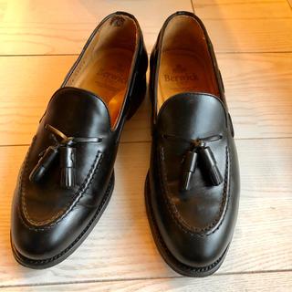 リーガル(REGAL)の専用3.2万 Berwick バーウィック タッセルローファー 革靴 ブラック(ドレス/ビジネス)