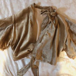 ロキエ(Lochie)のcurios購入❤︎30's〜40's vintage jacket(ノーカラージャケット)