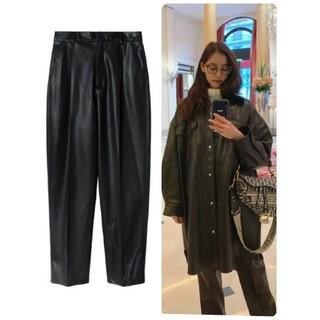 ルシェルブルー(LE CIEL BLEU)のLE CIEL BLEU🖤Faux Leather Pants 新品未使用(その他)