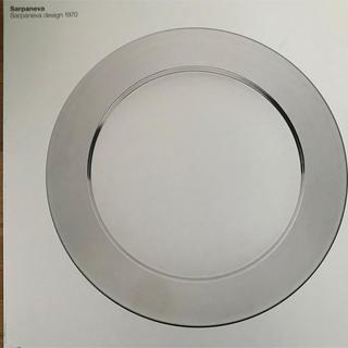 イッタラ(iittala)の新品未使用 iittala sarpaneva steel plate 32 (収納/キッチン雑貨)