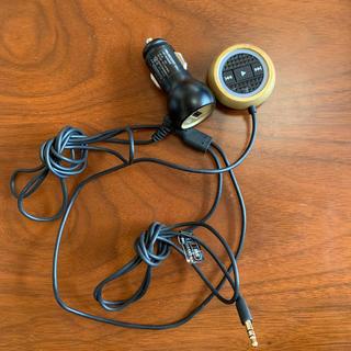 エレコム(ELECOM)のAUX Bluetooth トランスミッター(車内アクセサリ)