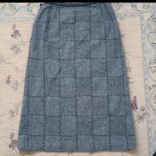 esche ツイードスカート(ひざ丈スカート)