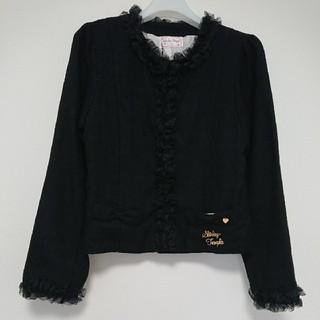 シャーリーテンプル(Shirley Temple)のShirley Temple ノーカラー ジャケット 160(ドレス/フォーマル)
