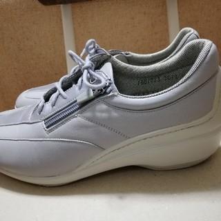 ボンステップシューズ 24.5(ローファー/革靴)