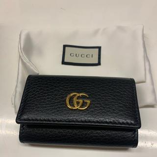 Gucci - 期間限定値下げ★GUCCI プチマーモント レザーキーケース
