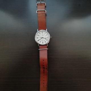 タイメックス(TIMEX)のTIMEX タイメックス 腕時計 レザー(腕時計(アナログ))
