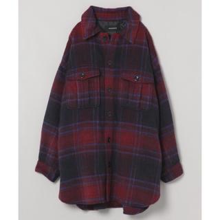 ジーナシス(JEANASIS)のジーナシス  シャギーBIGシャツコート cpoジャケット(ピーコート)
