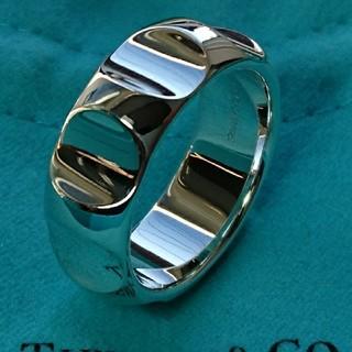 Tiffany & Co. - TIFFANY グルーブリング 正規品