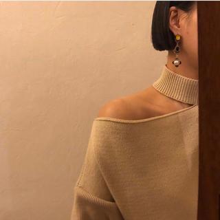 肩出しニット セーター(ニット/セーター)