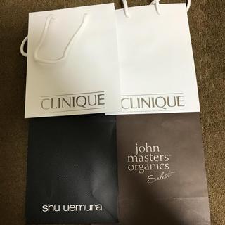 クリニーク(CLINIQUE)のショップ袋(ショップ袋)
