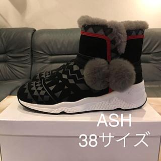 ASH - 【1回使用のみ・美品】ASH ムートンスニーカー 38