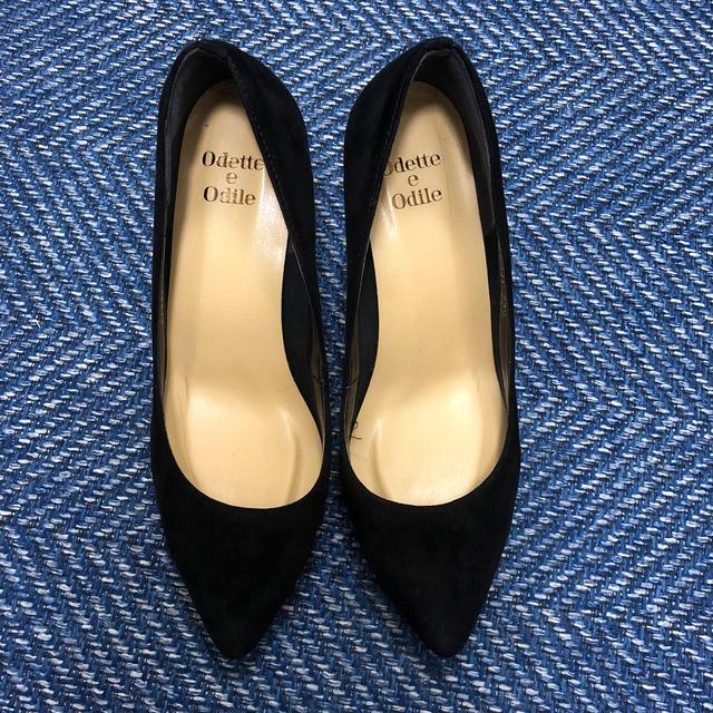 Odette e Odile(オデットエオディール)のオデットエオディール  スエードパンプス レディースの靴/シューズ(ハイヒール/パンプス)の商品写真