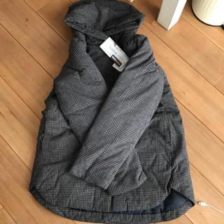 サマンサモスモス(SM2)の最終値下げ 新品 サマンサモスモス 中綿コート チャコール(モッズコート)