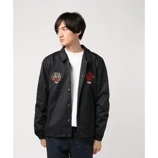VANS -  定15984円名作タイガーローズ!VANS新品コーチジャケットZOZO完売XL