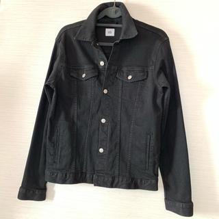 ウィゴー(WEGO)のWEGO メンズ。ブラック デニム ジャケット。美品!(Gジャン/デニムジャケット)