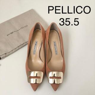 PELLICO - 極美品 ★ ペリーコ アネッリフィビア スエードパンプス 35.5