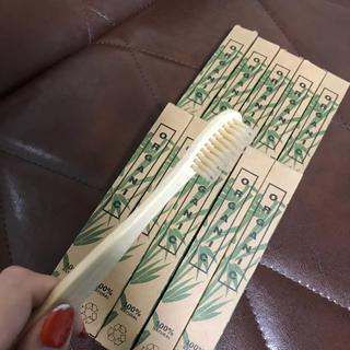 コスメキッチン(Cosme Kitchen)の7000円相当♡オーガニック 歯ブラシ10個セット(歯ブラシ/デンタルフロス)