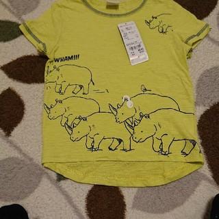 アカチャンホンポ(アカチャンホンポ)の赤ちゃん本舗 サイズ100 半袖シャツ  タグ付き未使用 (Tシャツ/カットソー)
