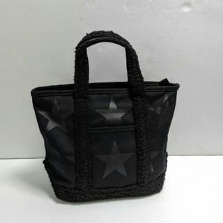 コンバース(CONVERSE)の[新品] コンバース♡キャンバス ボア付き ミニトートバッグ/黒(トートバッグ)