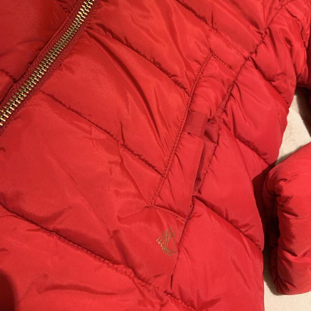 PETIT BATEAU(プチバトー)のプチバトー 19AW 中綿入りナイロンジャケット 6a キッズ/ベビー/マタニティのキッズ服女の子用(90cm~)(ジャケット/上着)の商品写真