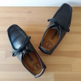 クラークス(Clarks)のclarks / natalie / black lea / 22.5cm(ブーツ)