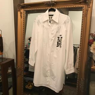 ミュウミュウ(miumiu)の miu miu ミュウミュウ ロングシャツ(シャツ/ブラウス(長袖/七分))