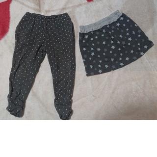 ベルメゾン - スカート&レギンスパンツ セット サイズ90