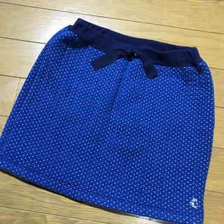 プチバトー(PETIT BATEAU)のプチバトーキッズスカート120-130 8ans (スカート)