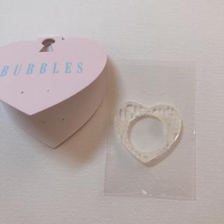 バブルス(Bubbles)のBUBBLES リング ハート(リング(指輪))