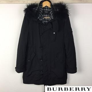 バーバリーブラックレーベル(BURBERRY BLACK LABEL)の美品 BURBERRY BLACK LABEL モッズコート インナー付(モッズコート)