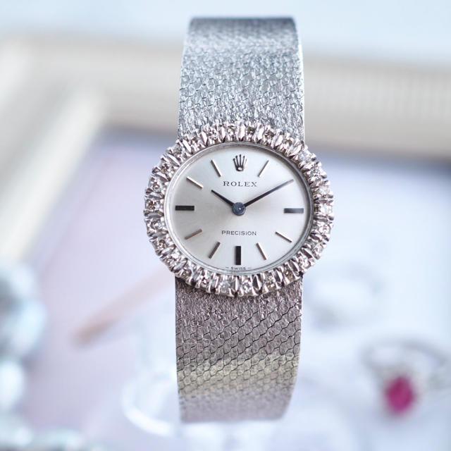 ROLEX - OH済 超美品✨ロレックス ダイヤベゼル プレシジョン✨カルティエ オメガの通販