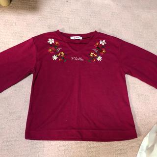 ピンクラテ(PINK-latte)のTシャツ五分袖(Tシャツ(長袖/七分))